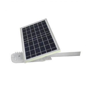 Luminarias Con paneles policristalinos de 10W - Lámpara led con sensor Potencia máxima 4.5W, 12 piezas LED Tiempo de vida 20 años Batería Batería de litio,