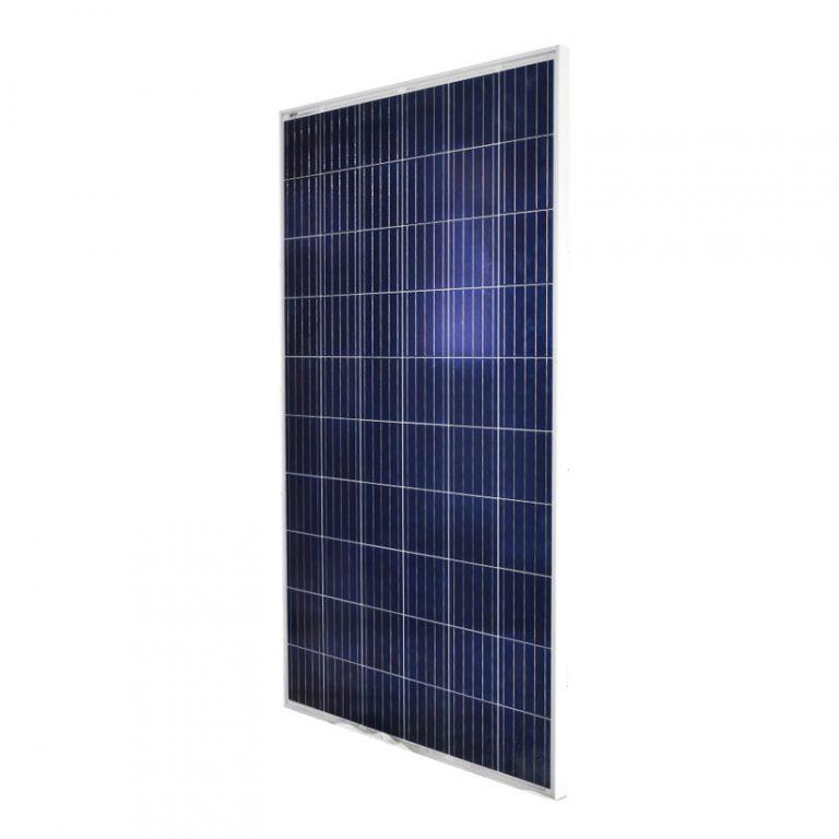 Panel Solar de 270 W de Potencia – Policristalino | Potencia - 25 W | Dimensiones - 1640x990x40 mm | Peso 18 Kg | Eficiencia 16.5 %
