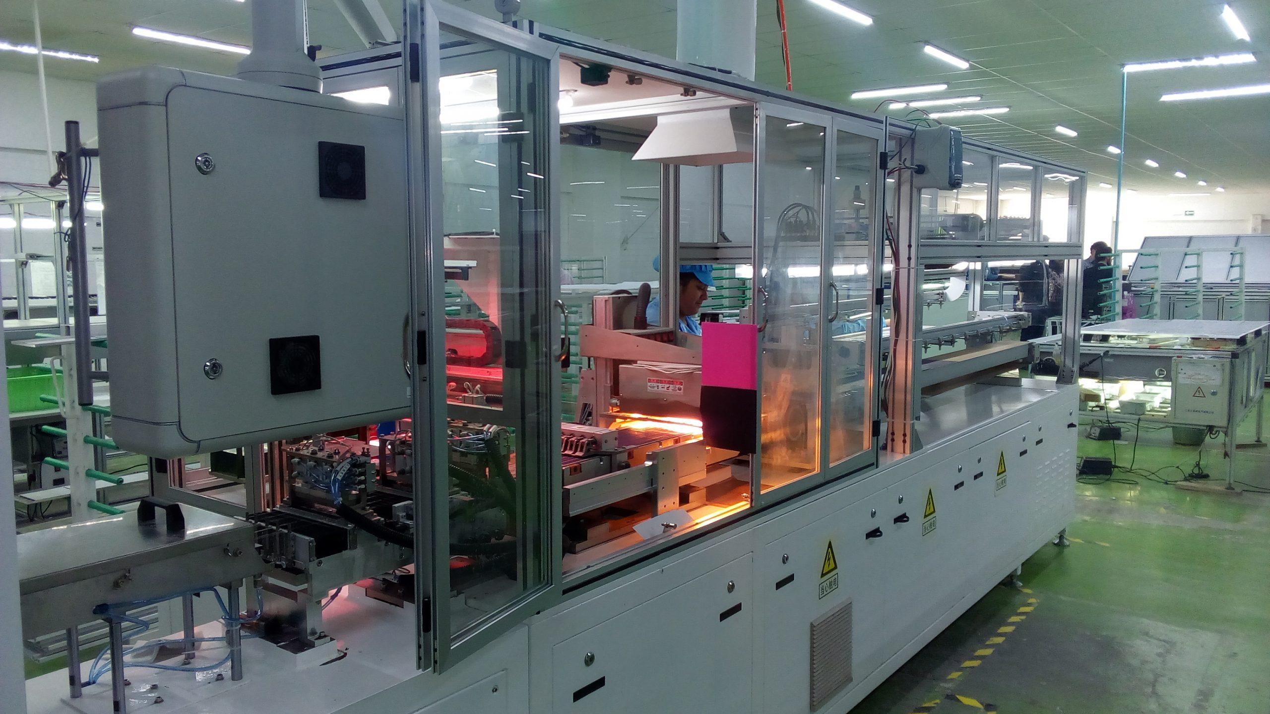 Proceso de producción Solarever - Paneles solares hechos en México